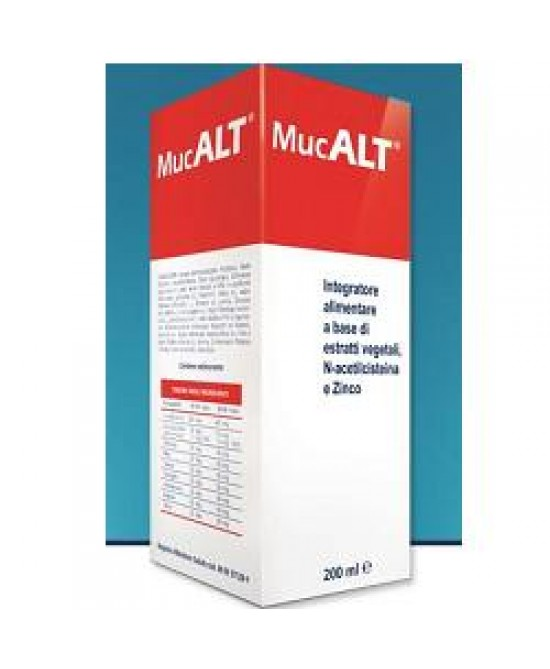 Mucalt 200ml - Spacefarma.it