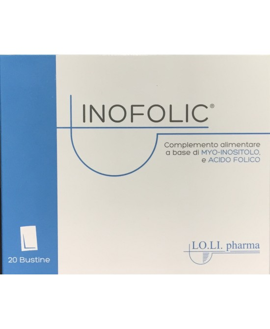 Lo.Li Pharma Inofolic Integratore 20 Bustine - Farmastar.it