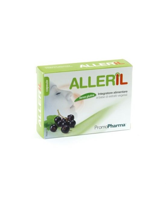 PromoPharma Integratori Alimentari E Nutraceutici / Linea Alleril Alleril 20 Capsule -