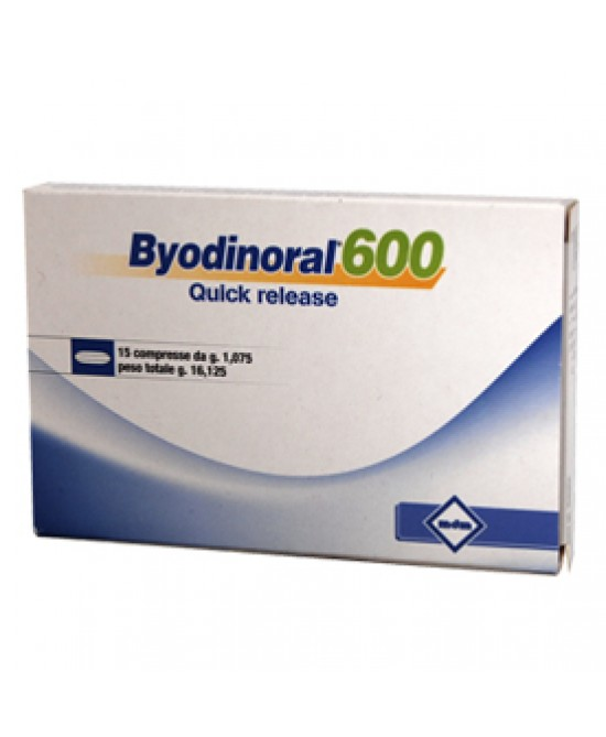 Byodinoral 600 15cpr - latuafarmaciaonline.it