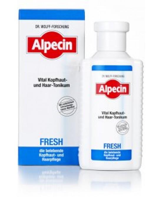 Alpecin Fresh Tonico Rivitalizzante 200ml - Farmafamily.it