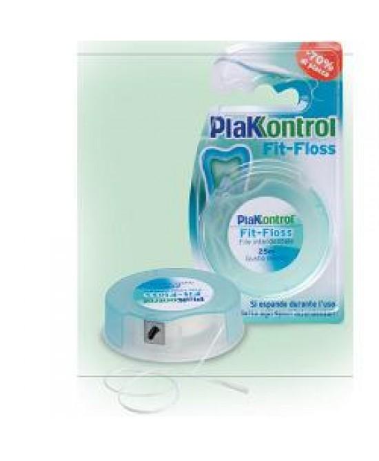 Plakkontrol Fit Floss Filo 25m - Farmafamily.it