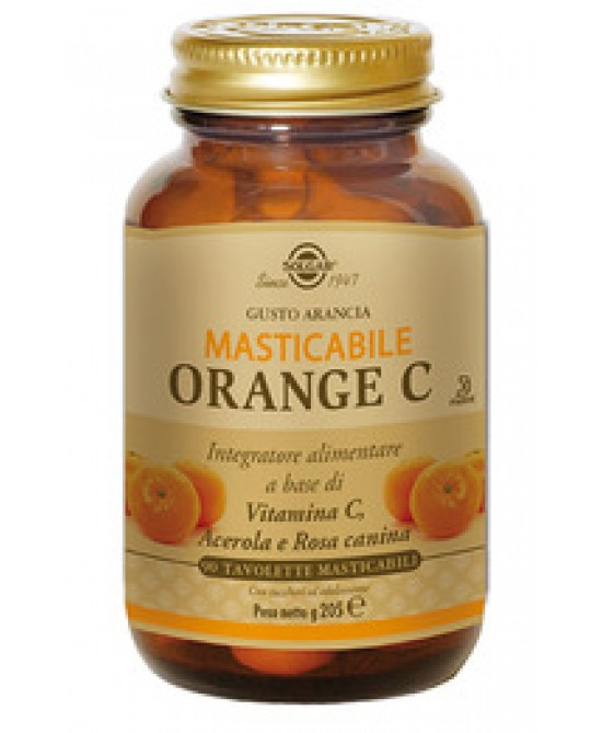 Solgar Orange C 90 Tavolette Masticabili - Farmaconvenienza.it