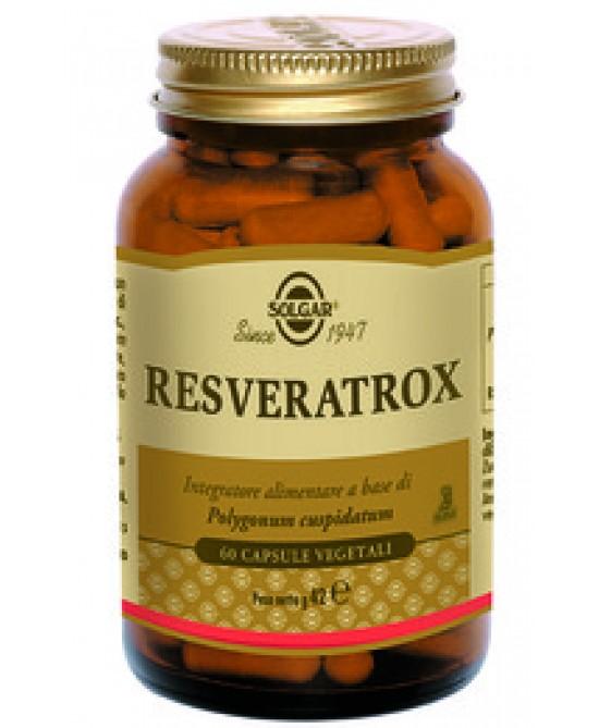 Solgar Resveratrox 60 Capsule Vegetali - Antica Farmacia Del Lago