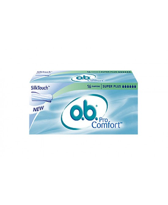 O.B.® ProComfort™ Super Plus  Assorbenti Interni Per Flusso Molto Intenso 16 Pezzi - Farmafamily.it