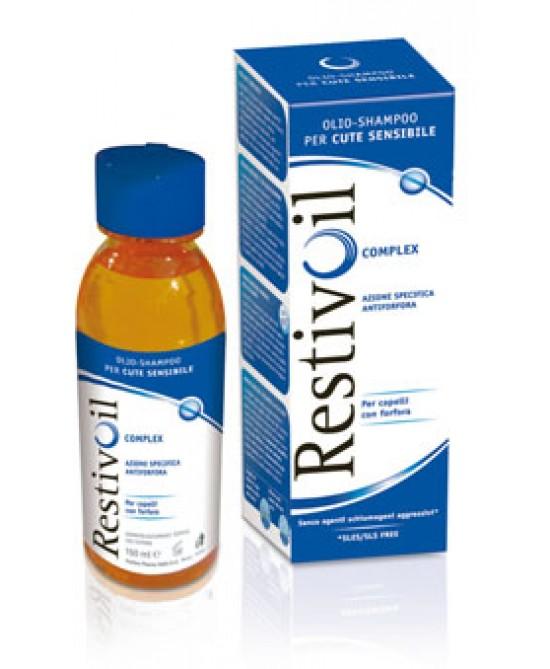 RestivOil Olio-Shampoo Complex Azione Antiforfora 250ml - Farmacento