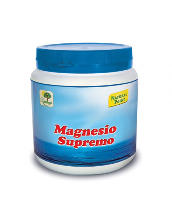 Natural Point Magnesio Supremo Integratore Alimentare 300g - Farmastar.it