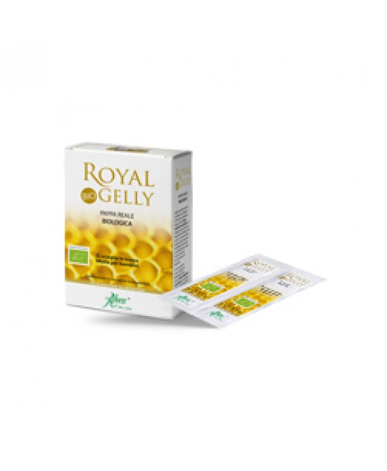 Aboca Royal Gelly Bio Orosolubile Integratore Pappa Reale 16 Bustine