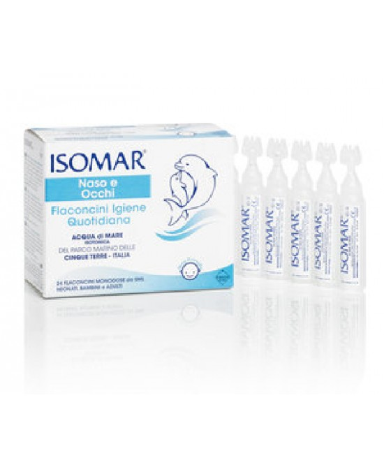 Isomar Soluzione Isotonica 24 Flaconi Monodose Da 5ml - Farmia.it
