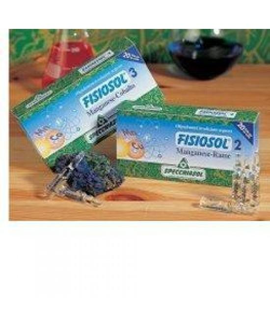 Fisiosol 2 Mn Cu 20f 2ml - FARMAPRIME