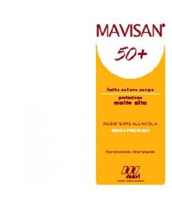Mavisan 50+ Latte Prot M/a 150 - Farmabenni.it