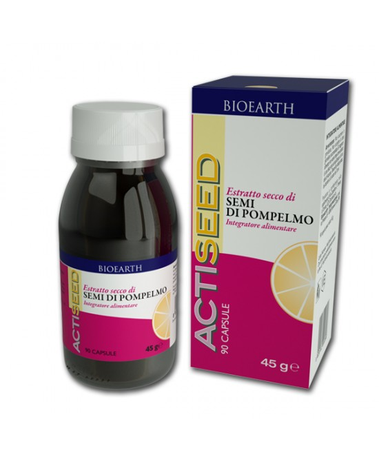 Bioheart Actiseed Estratto Liquido Di Pompelmo 50ml - Farmastar.it
