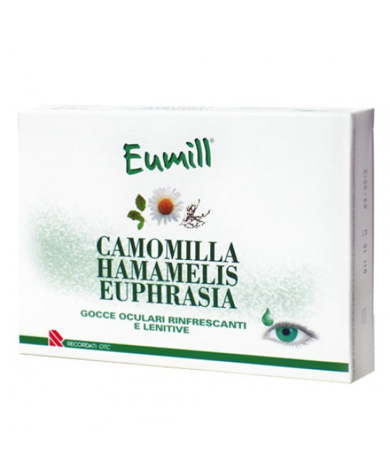 Eumill Gocce Oculari 10 Flaconi Monodose - Zfarmacia