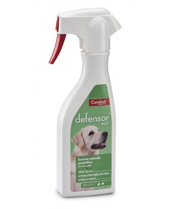 Candioli Defensor Eco Lozione Protettiva Naturale Cani e Gatti 250 Ml