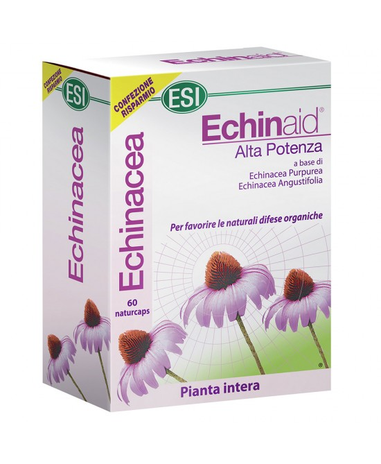Esi Echinaid Alta Potenza Integratore Alimentare 60 Capsule - Farmafamily.it