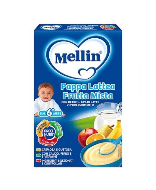 Mellin Pappe Latee Pappa Lattea Frutta Mista 250g - Farmia.it