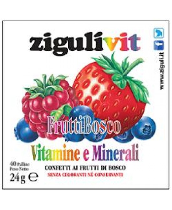 Ziguli Vit Fruttibosco 40conf - La farmacia digitale