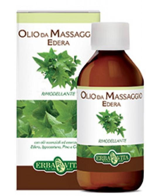 Erba Vita Edera Olio Da Massaggio Idratante e Drenante 250 ml