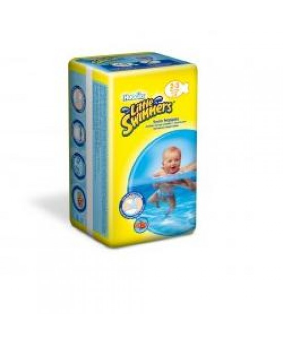 Huggies Little Swimmers 7-12 Kg Unisex Medio Piccolo - Zfarmacia