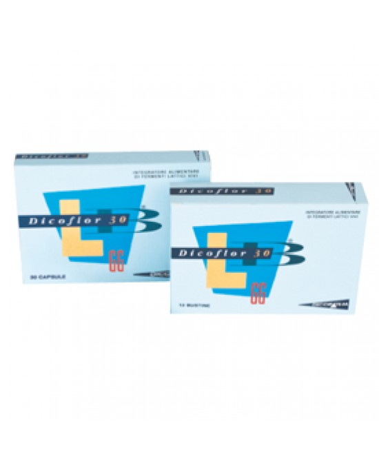 Dicoflor 30 Fermenti 30cps - Farmapc.it