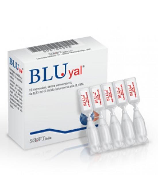 Bluyal Collirio Monodose 15 Pezzi - Farmaciaempatica.it