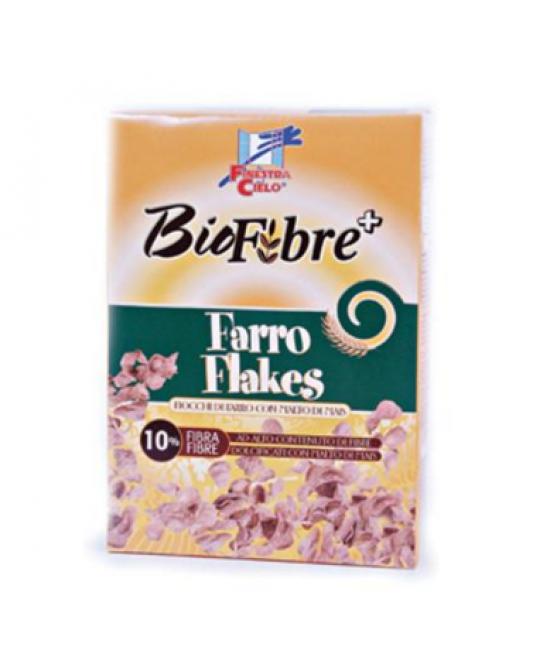 La Finestra Sul Cielo Biofibre+ Farro Flakes Biologico 375g -