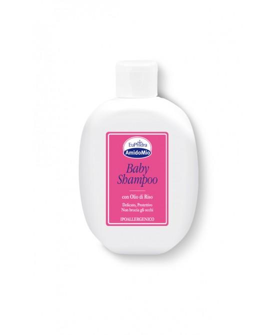 EuPhidra AmidoMio Baby Shampoo Con Olio Di Riso  200ml - Farmia.it