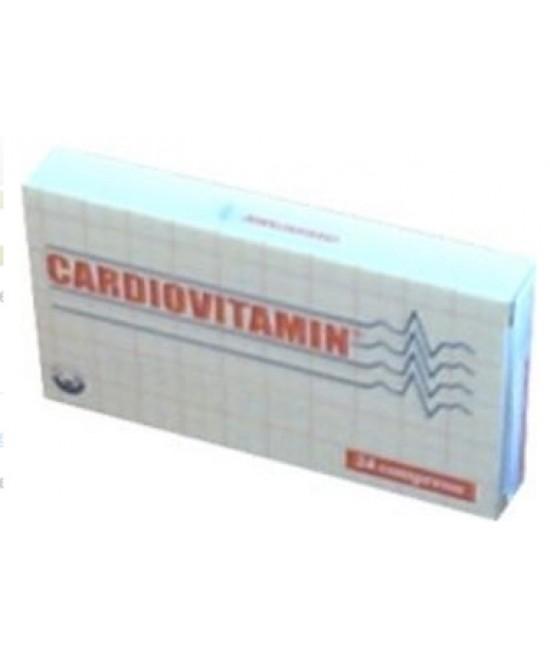 Cardiovitamin Integratore Vitaminico 24 Compresse