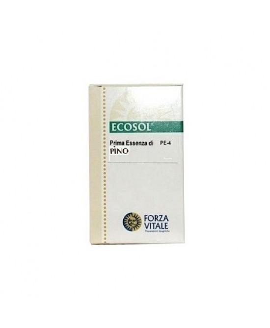 Ecosol Prima Essenza Pino Integratore Benessere Polmoni 10 ml
