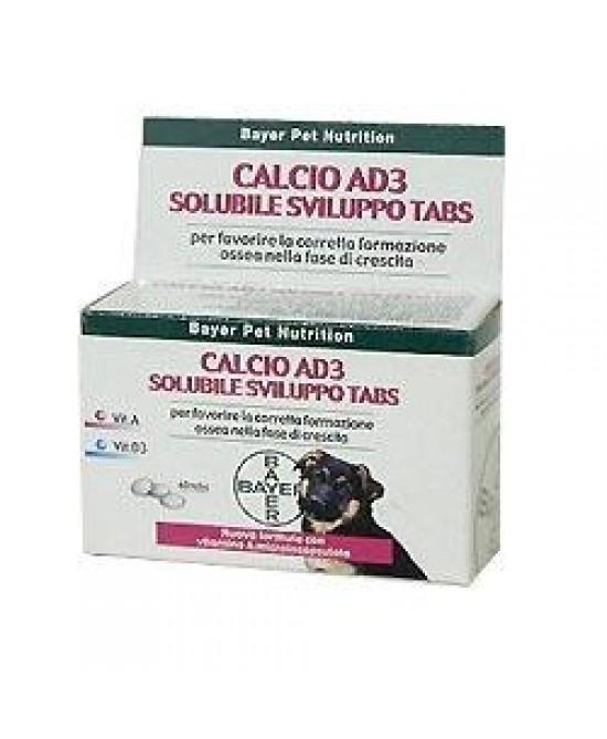 Calcio Ad3 Solub Sviluppo40cpr - Farmapc.it