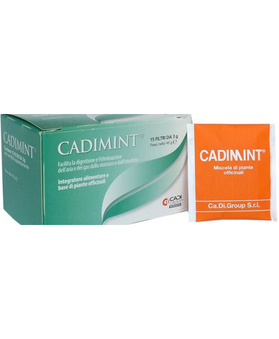 Cadimint 15filtx3g - La tua farmacia online