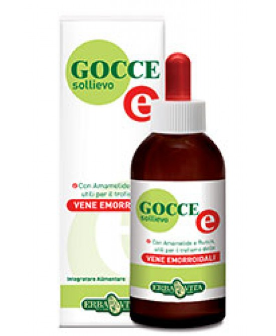 ErbaVita Gocce  E Sollievo Emorroidi 50ml - Farmastar.it