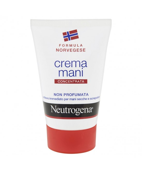 Neutrogena Crema Mani Concentrata Senza Profumo 50ml - Farmia.it