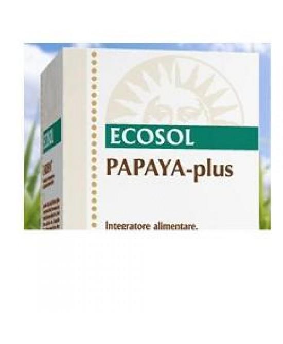 Papaya Plus Ecosol 60cpr