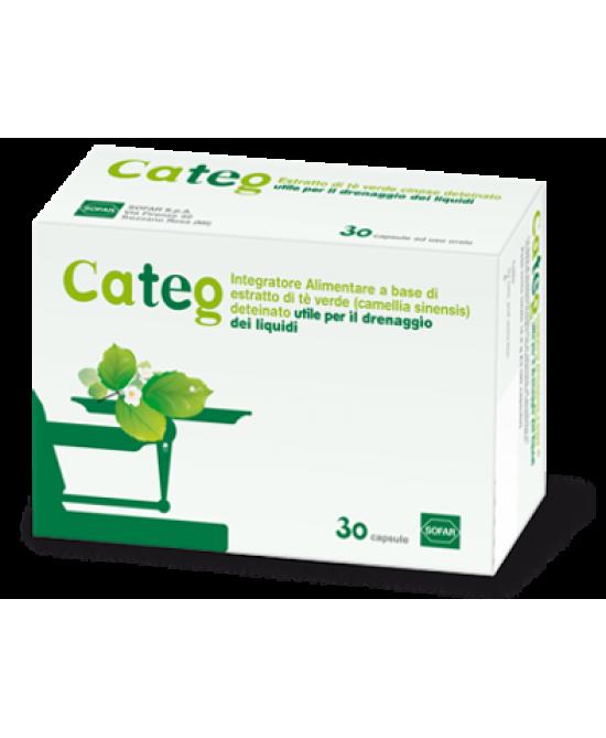 Sofar Categ Integratore Alimentare 30 Capsule - Farmafamily.it