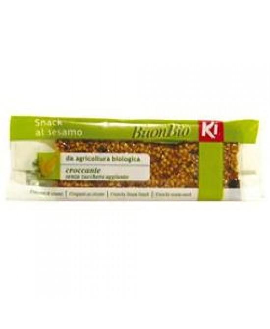 Ki Buonbio Snack Al Sesamo Biologico 25g