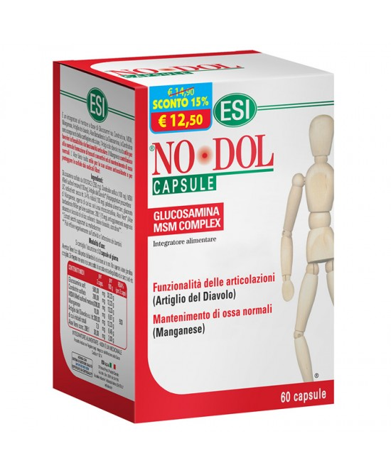 Esi No Dol Integratore Alimentare 60 Capsule - Farmaconvenienza.it