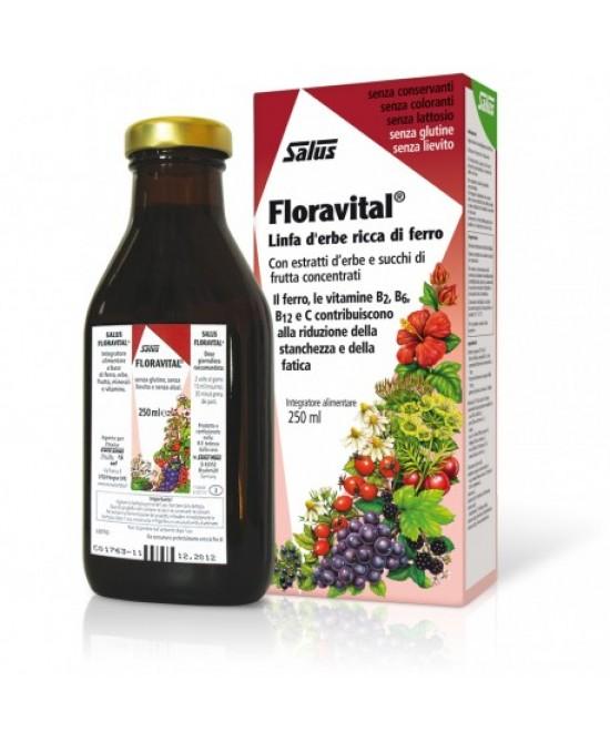 Salus Floravital Linfa D'Erbe Ricca Di Ferro 250ml - Iltuobenessereonline.it