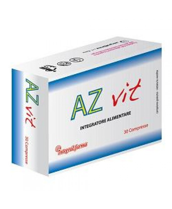 AZ Vit Integratore Vitamine Minerali 30 Compresse
