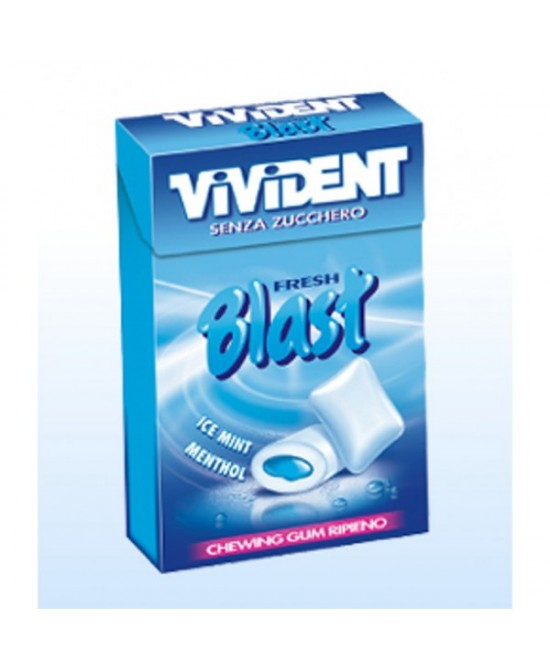 Vivident Fresh Blast Blue Senza Zucchero 30g - Farmaciasconti.it