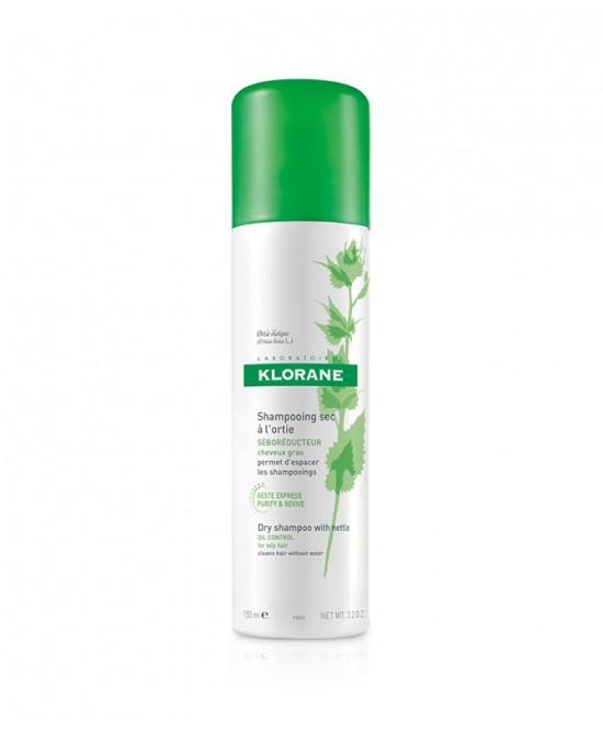 Klorane Shampoo Secco All' Ortica Seboregolatore Spray 150ml - Zfarmacia