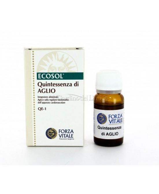 ECOSOL QUINTESSENZA DI AGLIO GOCCE 10 ML - Farmaseller