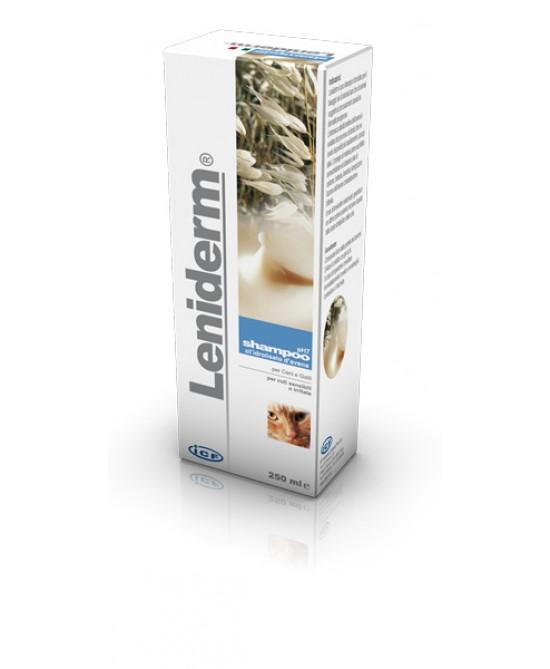 Icf Leniderm Shampoo Per Cani E Gatti 250ml - Farmajoy