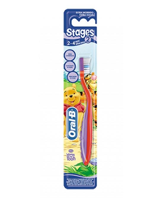 Oral-B Stages 2 Spazzolino Manuale Morbido Per Bambini - Antica Farmacia Del Lago