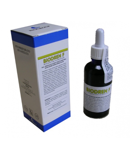 Biogroup Biodren F Soluzione Da 50ml - Zfarmacia