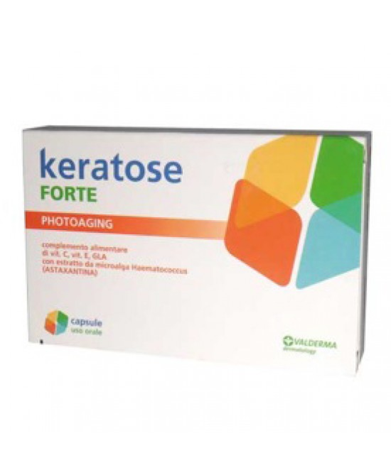Keratose Forte Integrat 20cps - Farmaci.me