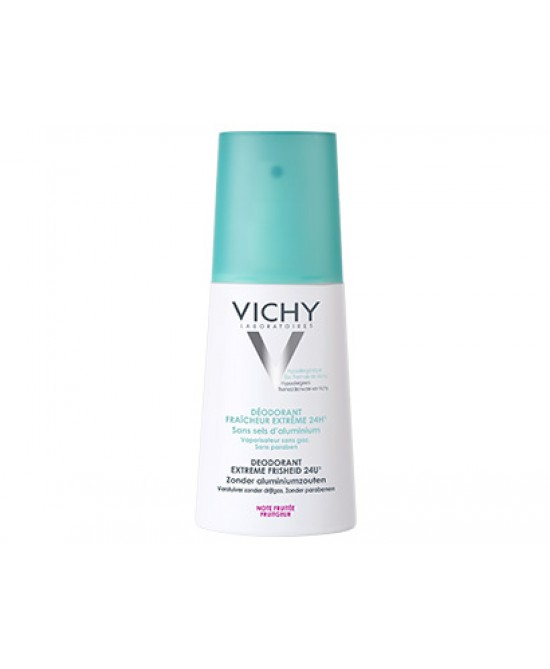 Vichy Deodorante Freschezza Estrema Nota Fruttata 24H Vapo 100ml - Sempredisponibile.it
