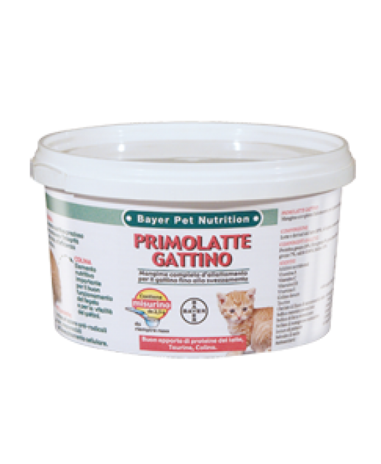 Bayer Primolatte Gattino Latte In Polvere 200g - Farmaciasconti.it