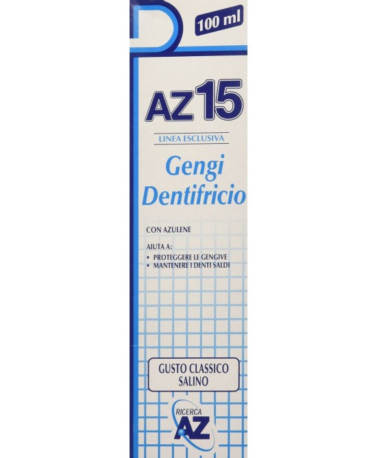 AZ 15 Gengi Dentifricio 100ml - latuafarmaciaonline.it