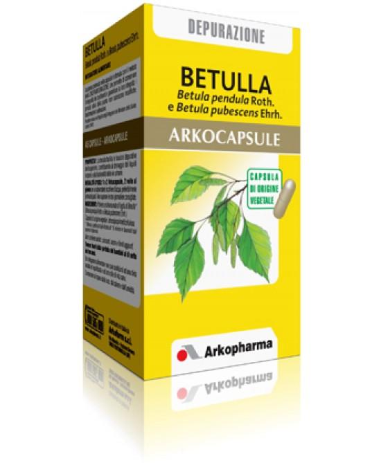Arkopharma Betulla Arkocapsule Integratore Alimentare 45 Capsule - Farmawing